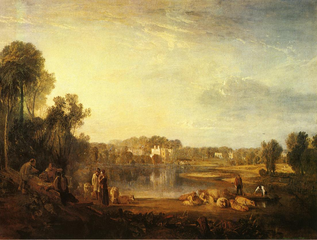 Joseph Mallord William Turner Pope's Villa at Twickenham