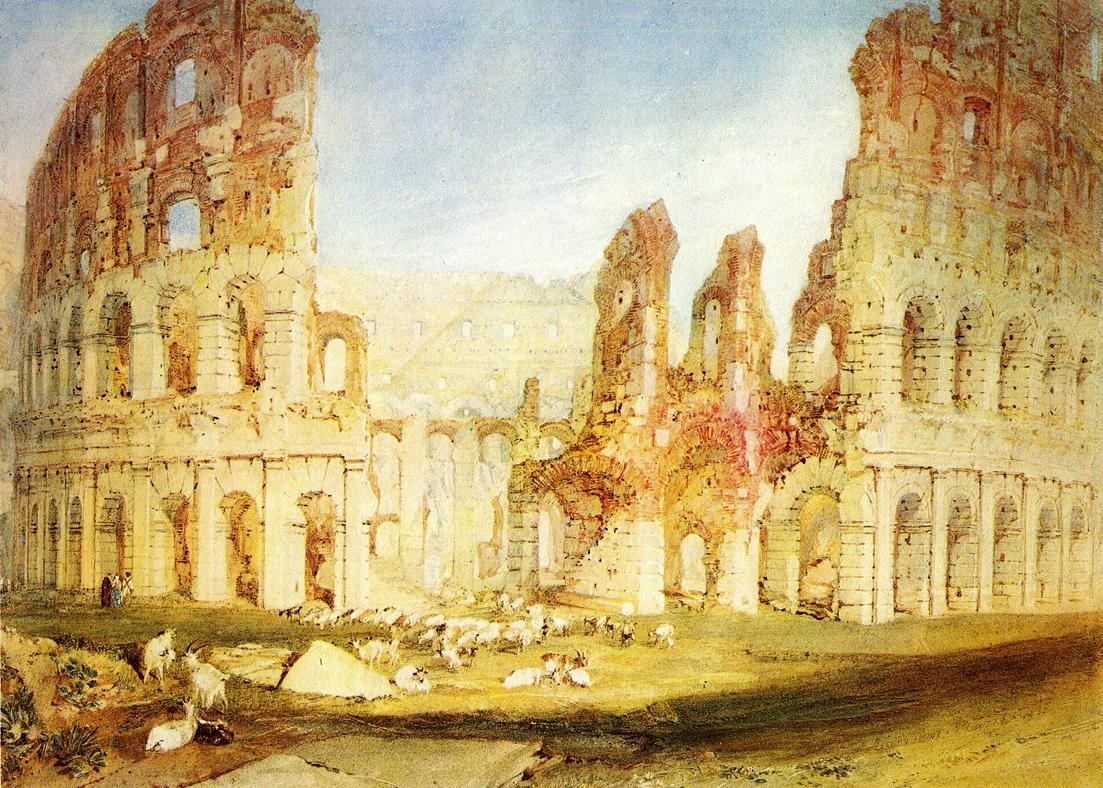 Joseph Mallord William Turner Rome The Colosseum