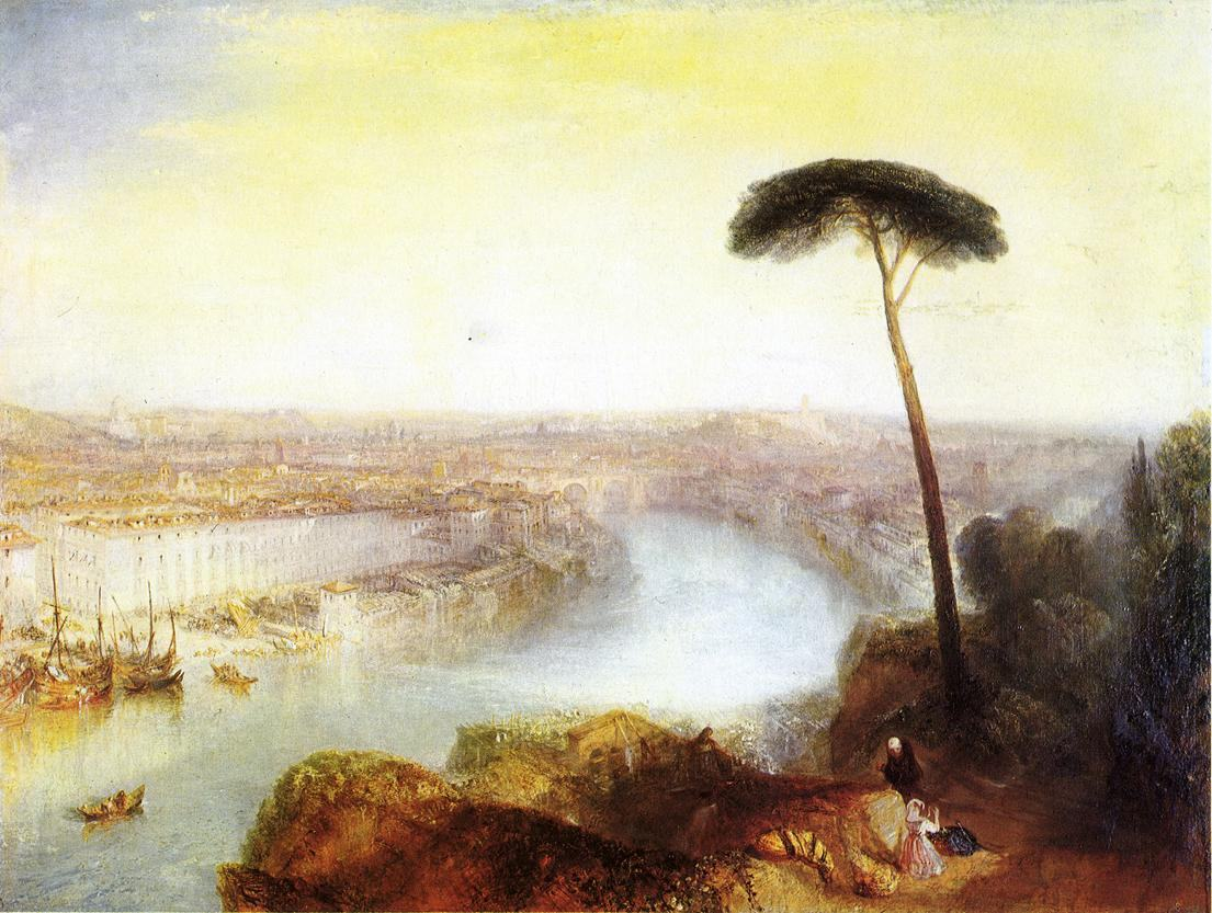 Joseph Mallord William Turner Rome from Mount Aventine