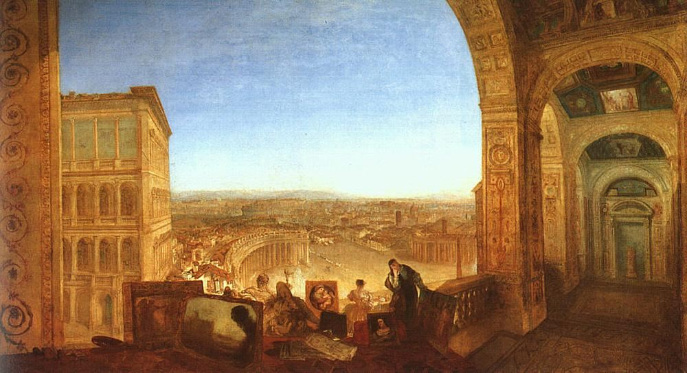 Joseph Mallord William Turner Rome from the Vatican