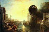 Joseph Mallord William Turner Dido Building Carthage painting