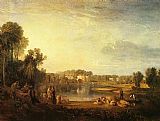 Joseph Mallord William Turner Pope's Villa at Twickenham painting