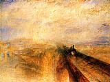 Joseph Mallord William Turner Rain, Steam and Speed - The Great Western Railway painting