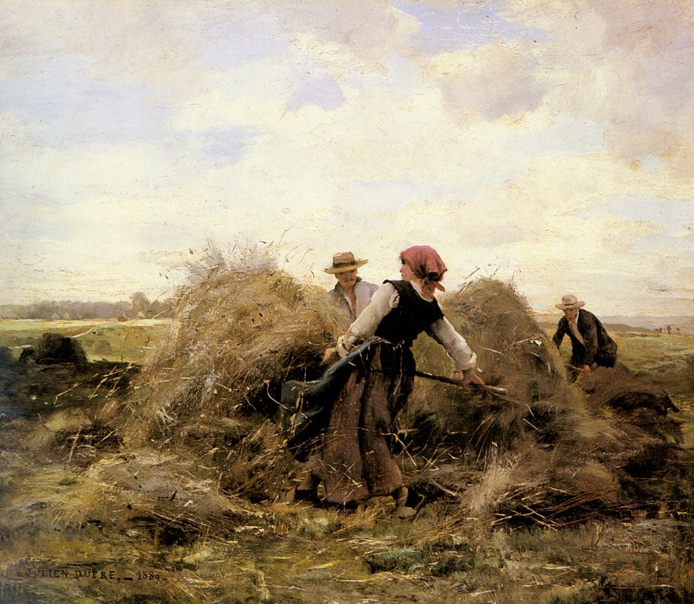 Julien Dupre The Harvesters