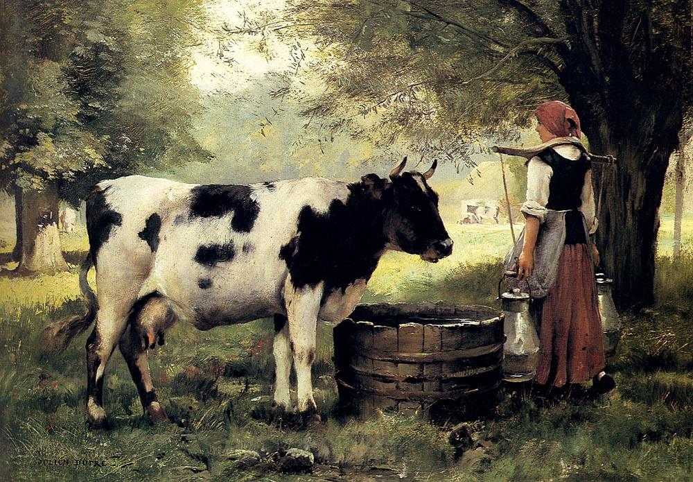 Julien Dupre The Milkmaid