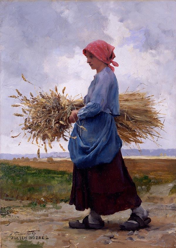 Julien Dupre Returning From the Fields