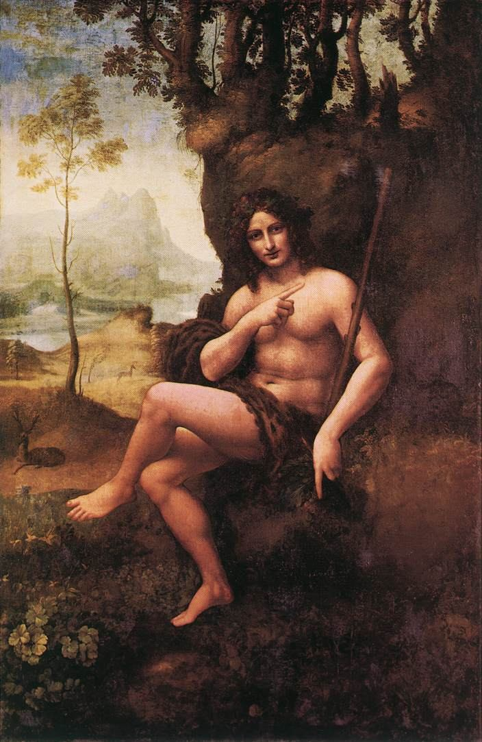 Leonardo da Vinci St John in the Wilderness