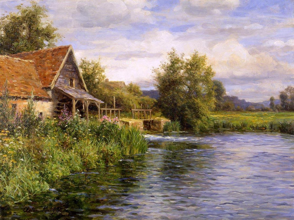 Louis Aston Knight Cottage by the River