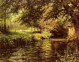 Louis Aston Knight - A Sunny Morning At Beaumont-Le-Roger