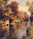 Famous Canal Paintings - Sunny Afternoon on the Canal
