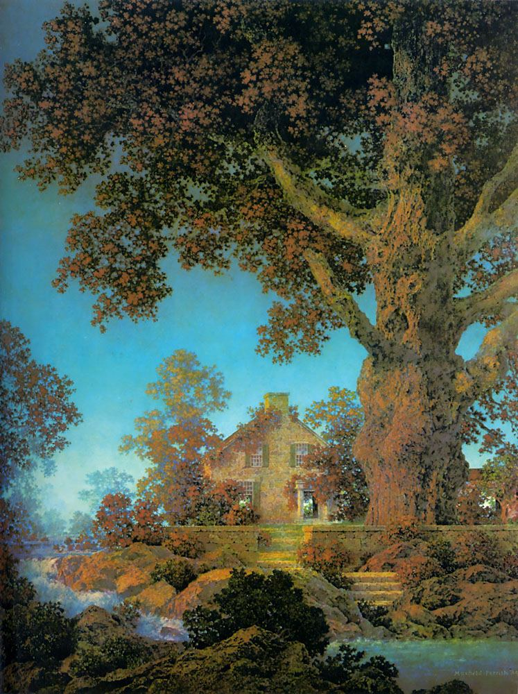Maxfield Parrish Morning Light