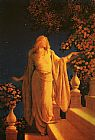 Maxfield Parrish Parrish Enchantment painting