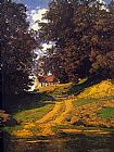 Famous Country Paintings - The Country Schoolhouse
