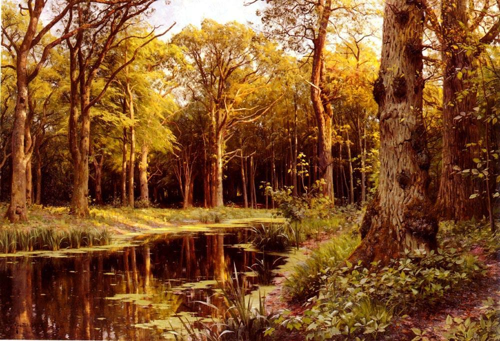 famous rest paintings page 2 Famous Forest Paintings