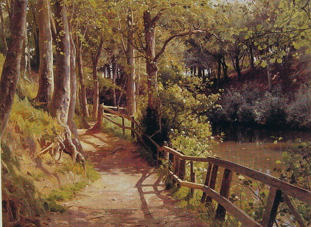 famous path paintings Famous Forest Paintings