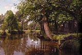 Famous River Paintings - On the River