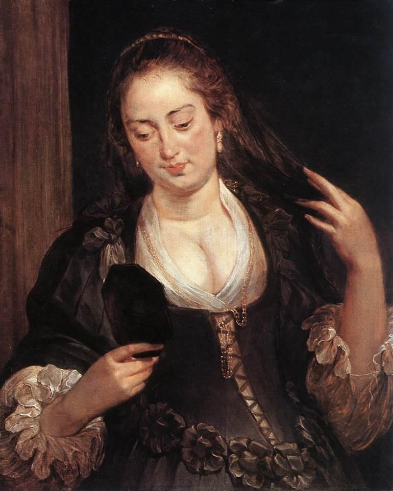Peter Paul Rubens Woman with a Mirror