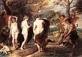 Famous Paris Paintings - The Judgment of Paris