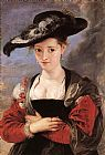 Peter Paul Rubens The Straw Hat painting