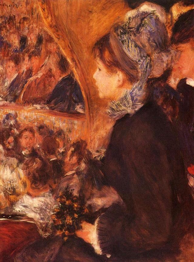 Pierre Auguste Renoir At The Theatre