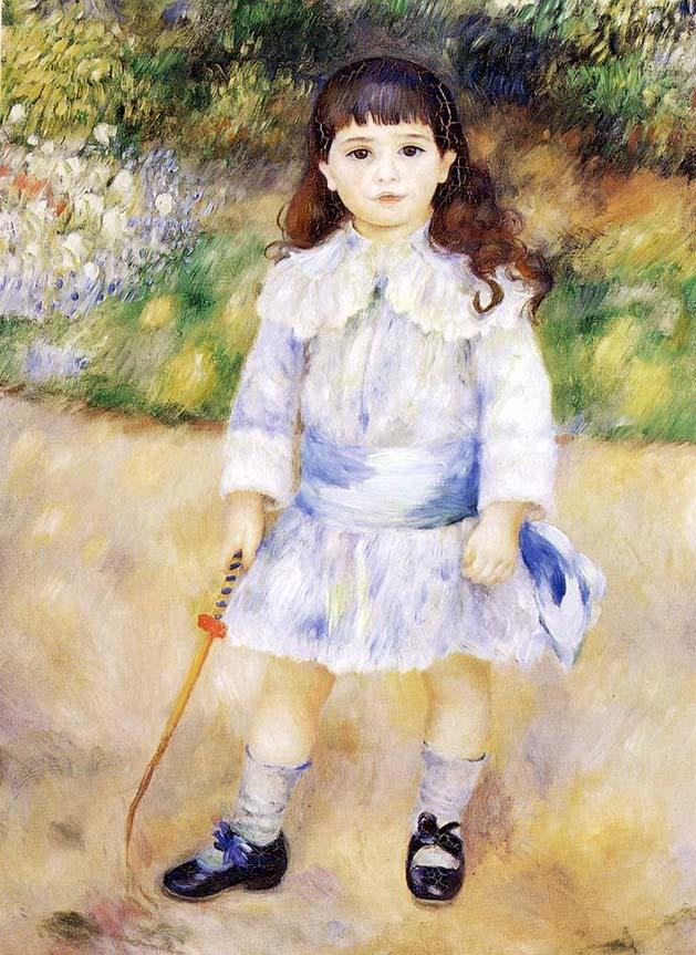 Pierre Auguste Renoir Child with a Whip
