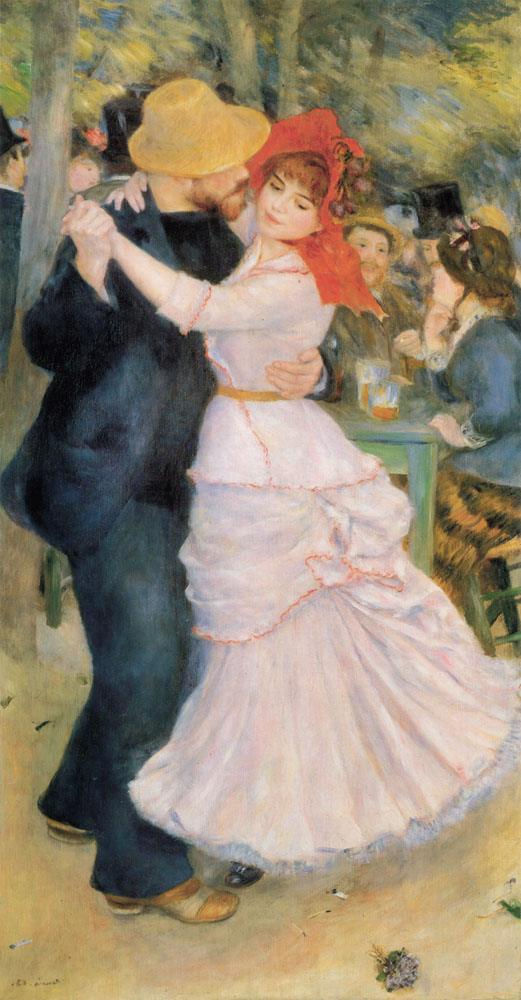 Pierre Auguste Renoir Dance at Bougival