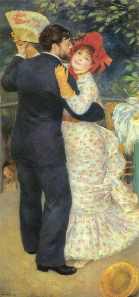 Pierre Auguste Renoir Dance in the Country