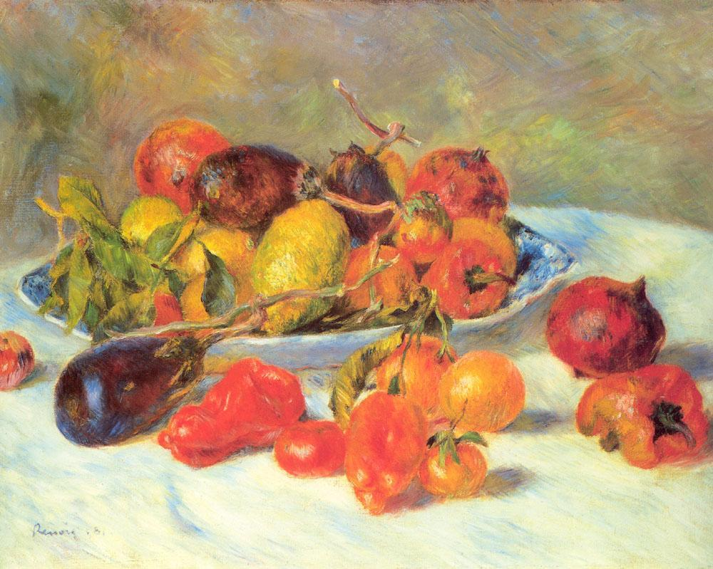 Pierre Auguste Renoir Fruits from the Midi