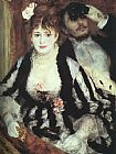 Pierre Auguste Renoir Canvas Paintings - La Loge