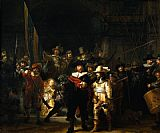 rembrandt nightwatch painting