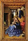 Child Canvas Paintings - Virgin and Child in an Interior