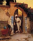 Rudolf Ernst - By the Entrance