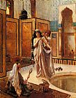 Famous Bath Paintings - The Harem Bath