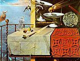 Salvador Dali - Living Still Life