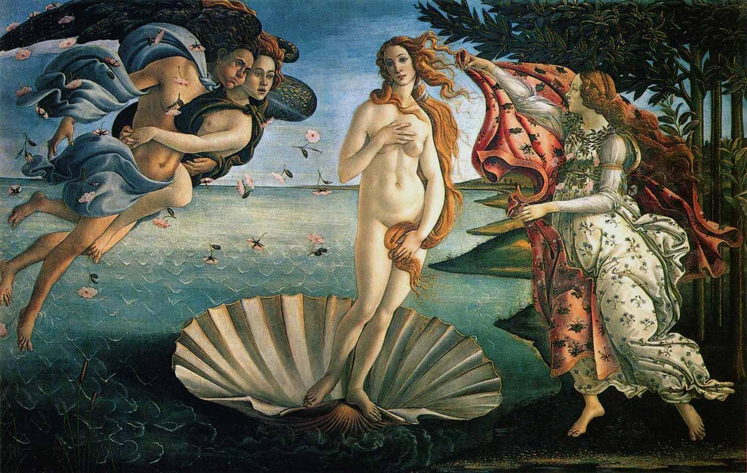 Sandro Botticelli The Birth of Venus painting | framed ...
