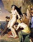 Theodore Chasseriau - Andromeda Chained to the Rock by the Nereids