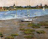 Theodore Robinson - The Anchorage Cos Cob