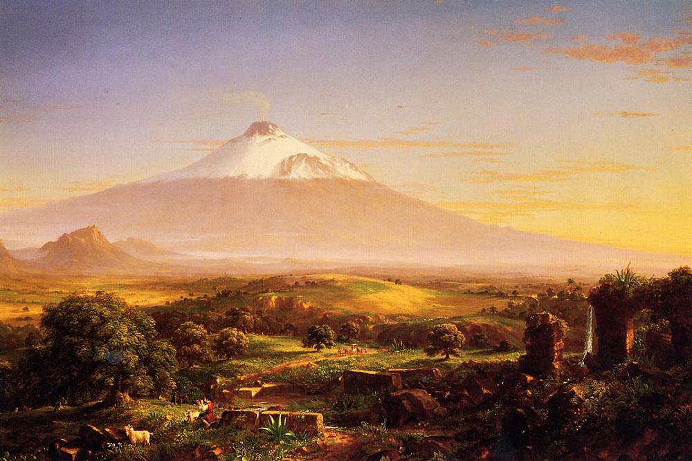 Thomas Cole Mount Etna