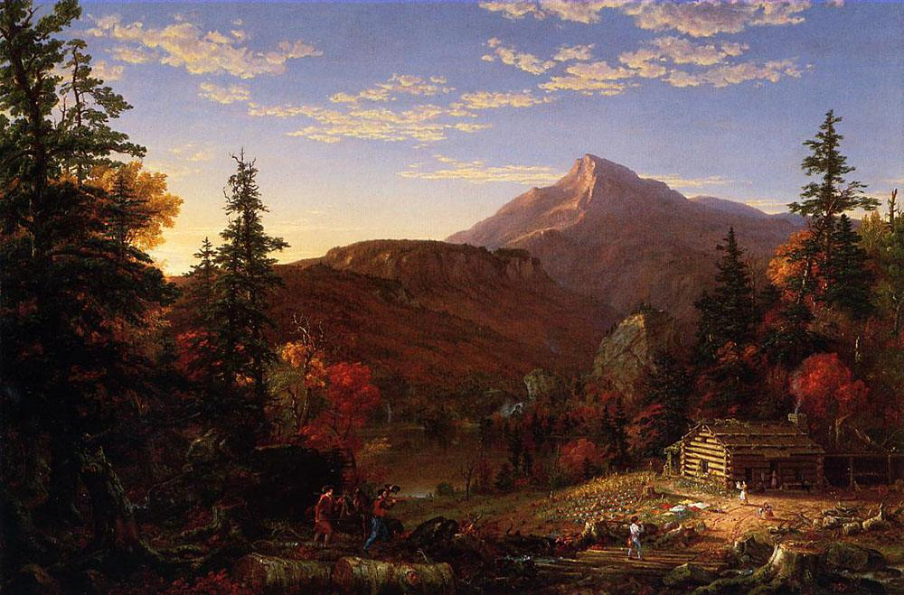 Thomas Cole The Hunter's Return