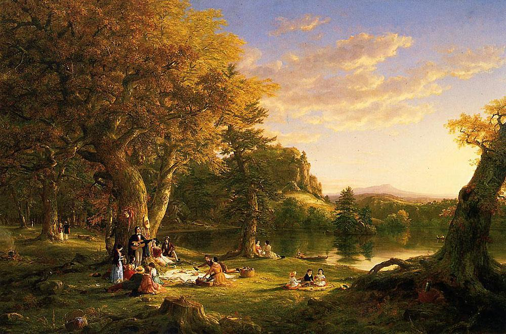 Thomas Cole The Picnic