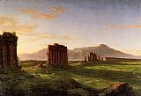 Thomas Cole Famous Paintings - Roman Campagna