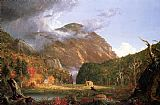 Famous White Paintings - The Notch of the White Mountains (Crawford Notch)