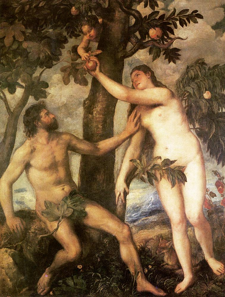 Titian The Fall of Man