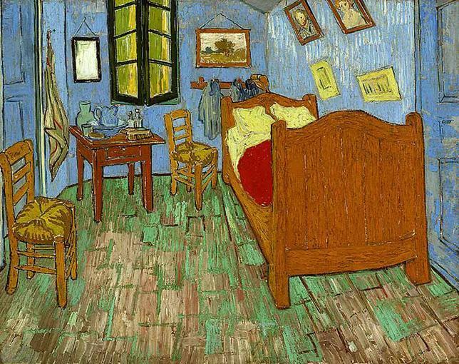 vincent van gogh the bedroom painting framed paintings