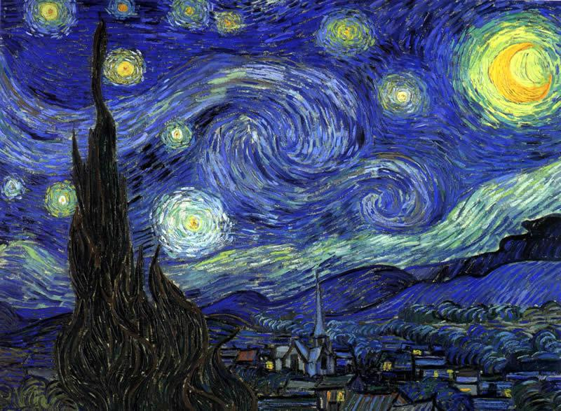 Famous Night Paintings