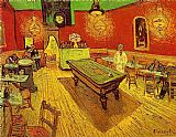 Vincent van Gogh The Night Cafe painting