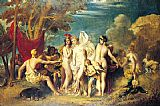William Etty The Judgement of Paris painting