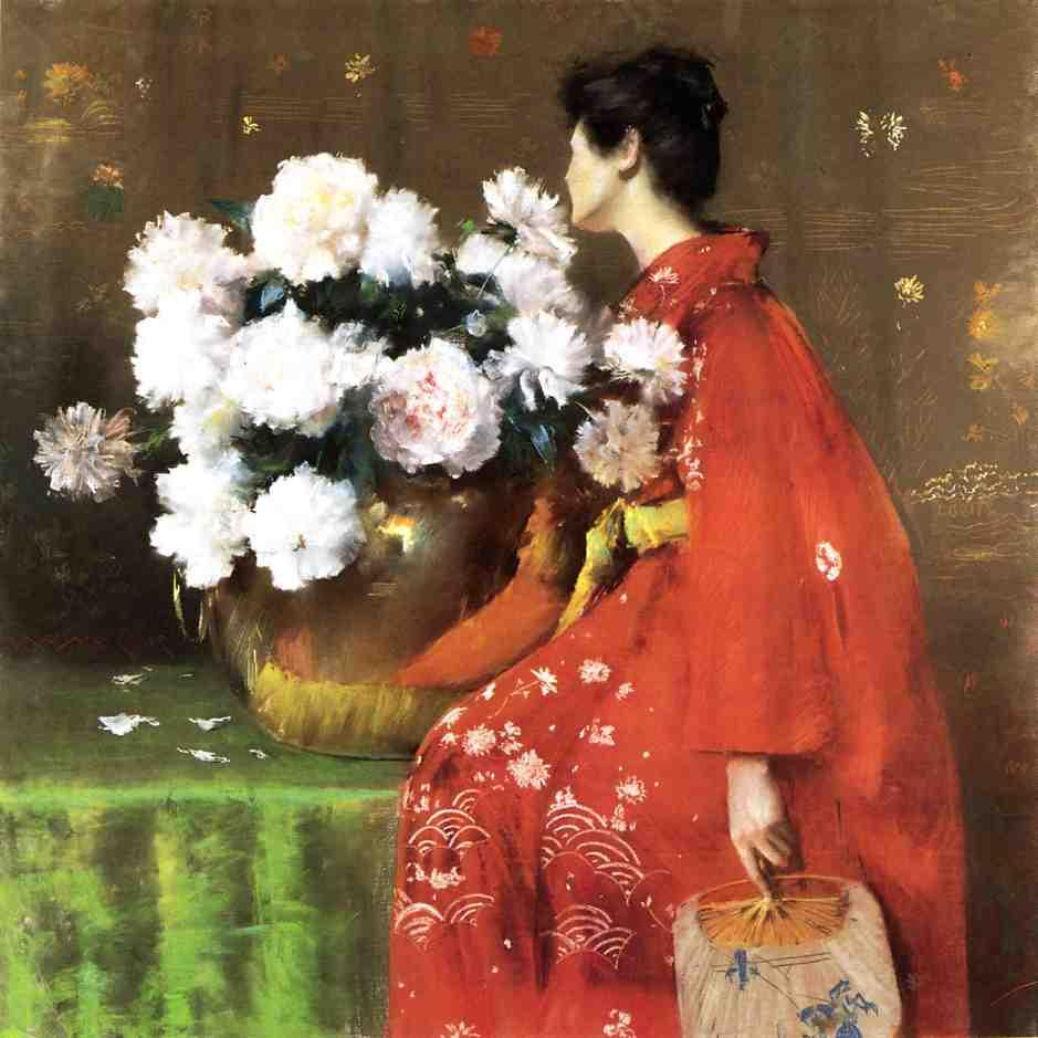 William Merritt Chase Peonies