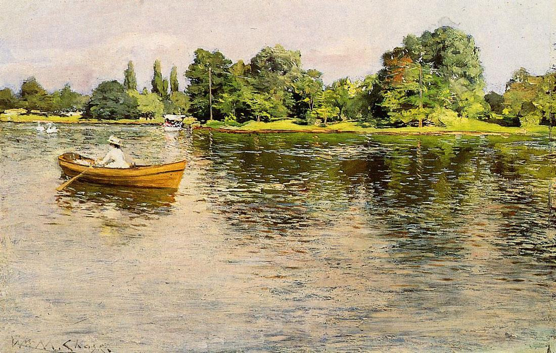 William Merritt Chase Chase Summertime
