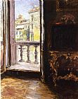 bal Canvas Paintings - Venetian Balcony
